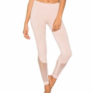 Stella McCartney for Adidas Mesh Dusty Rose Tight